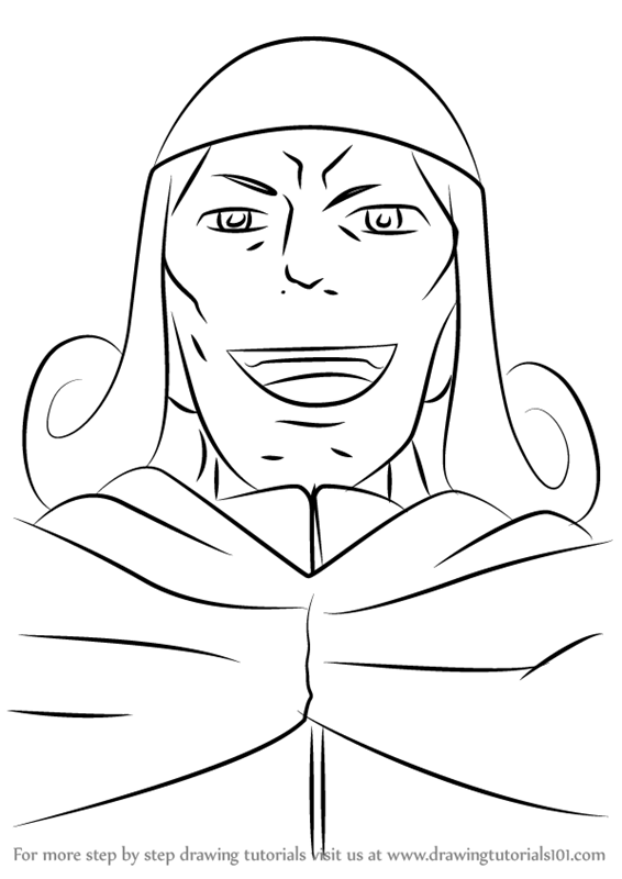step by step how to draw oliver cromwell from zero no