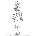 How to Draw Mayu Hashimoto from Zetman