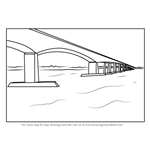 How to Draw Orwell Bridge