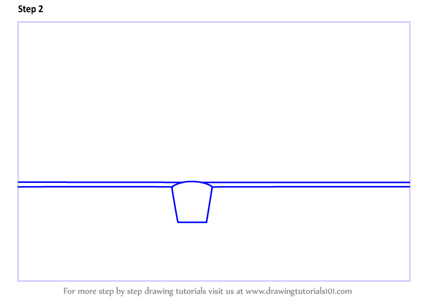 how to draw a truss bridge step by step