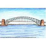 How to Draw Sydney Harbour Bridge