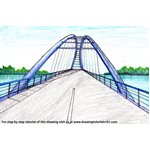 How to Draw Walterdale Bridge