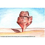 How to Draw Hoggar Mountains