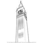 How to Draw Elizabeth Tower