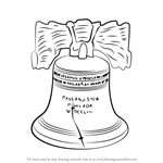 How to Draw Liberty Bell