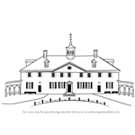 How to Draw Mount Vernon
