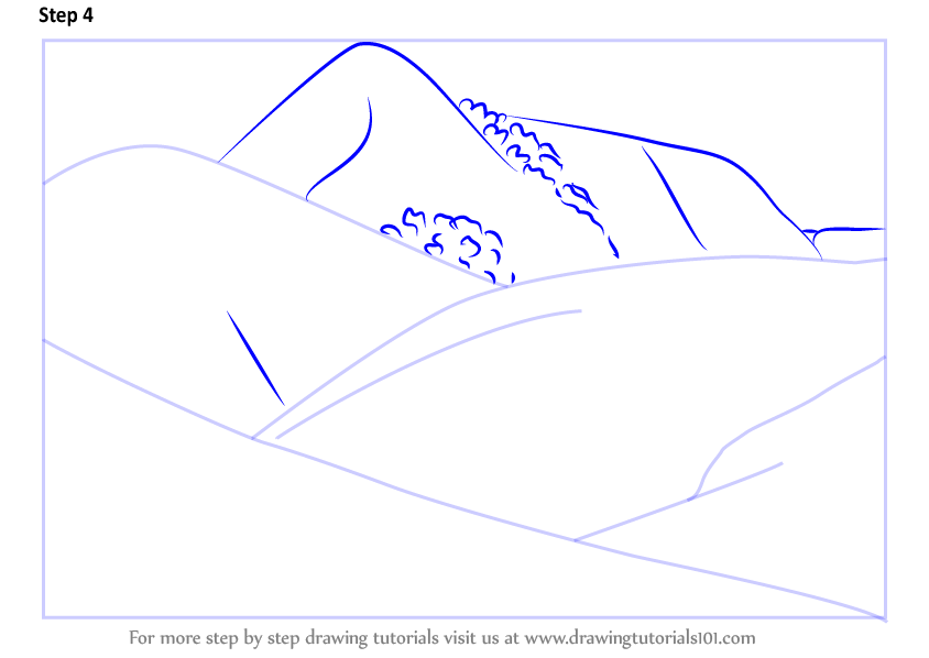 How To Draw A Valley
