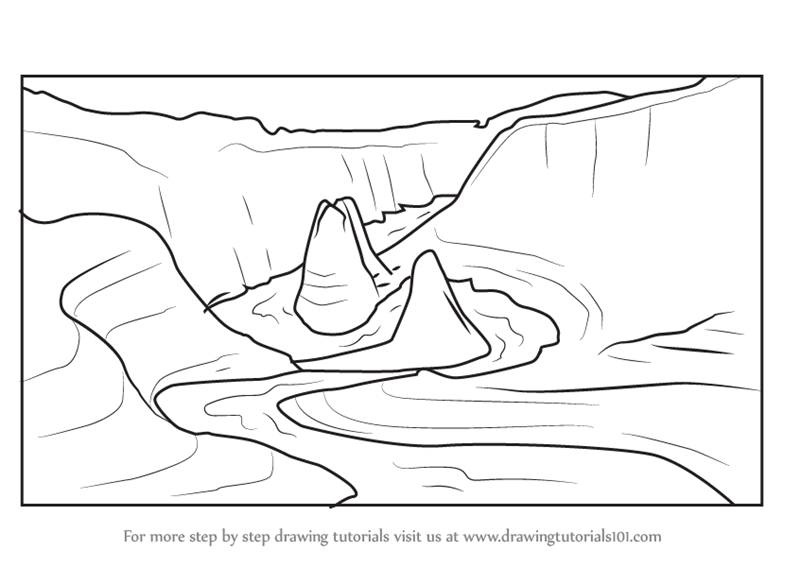 grand canyon coloring pages - photo#24