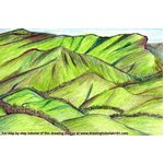 How to Draw Kudremukh National Park