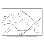How to Draw Nanda Devi National Park