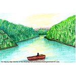 How to Draw Periyar National Park