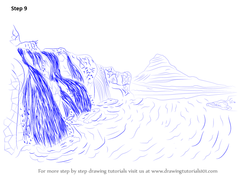 how to draw scenery step by step download