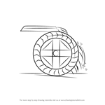 How to Draw a Water Wheel