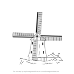 How to Draw a Windmill