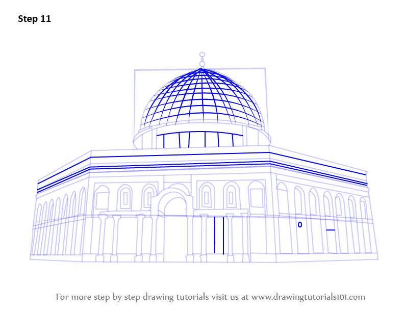 Line Drawing Jerusalem : Learn how to draw old city of jerusalem wonders the