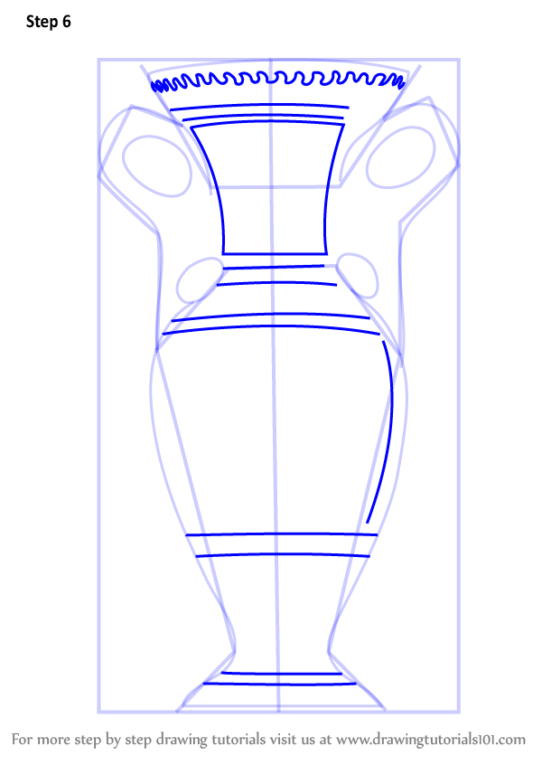 Learn How To Draw An Antique Vase (Decor) Step By Step