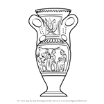 How to Draw an Antique Vase