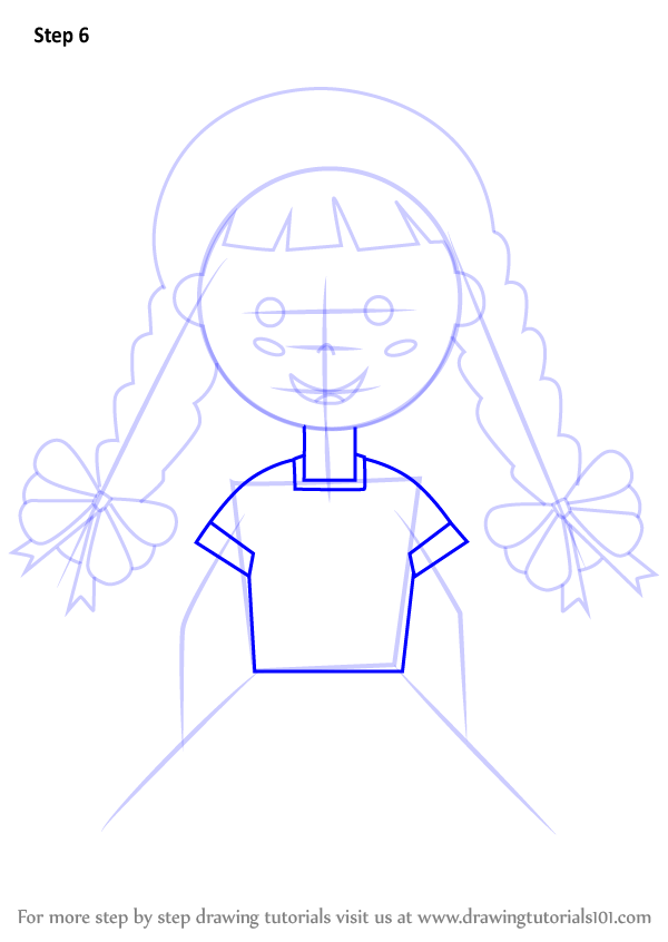 Learn How To Draw A Girl With China Poblana Dress Fashion
