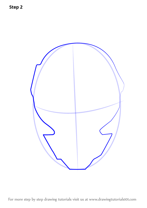 Learn How To Draw Arkham Knight Helmet From Batman (Batman