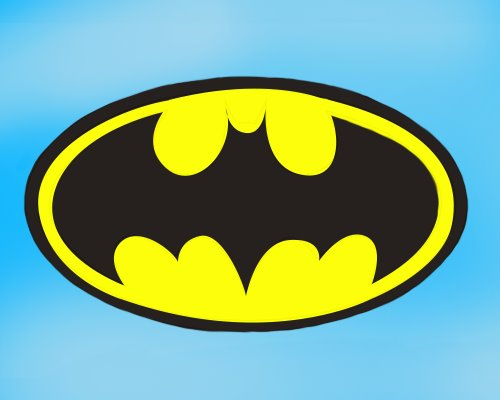 Step By Step How To Draw Batman Logo  DrawingTutorials101.com