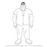 How to Draw Grandpa Max from Ben 10