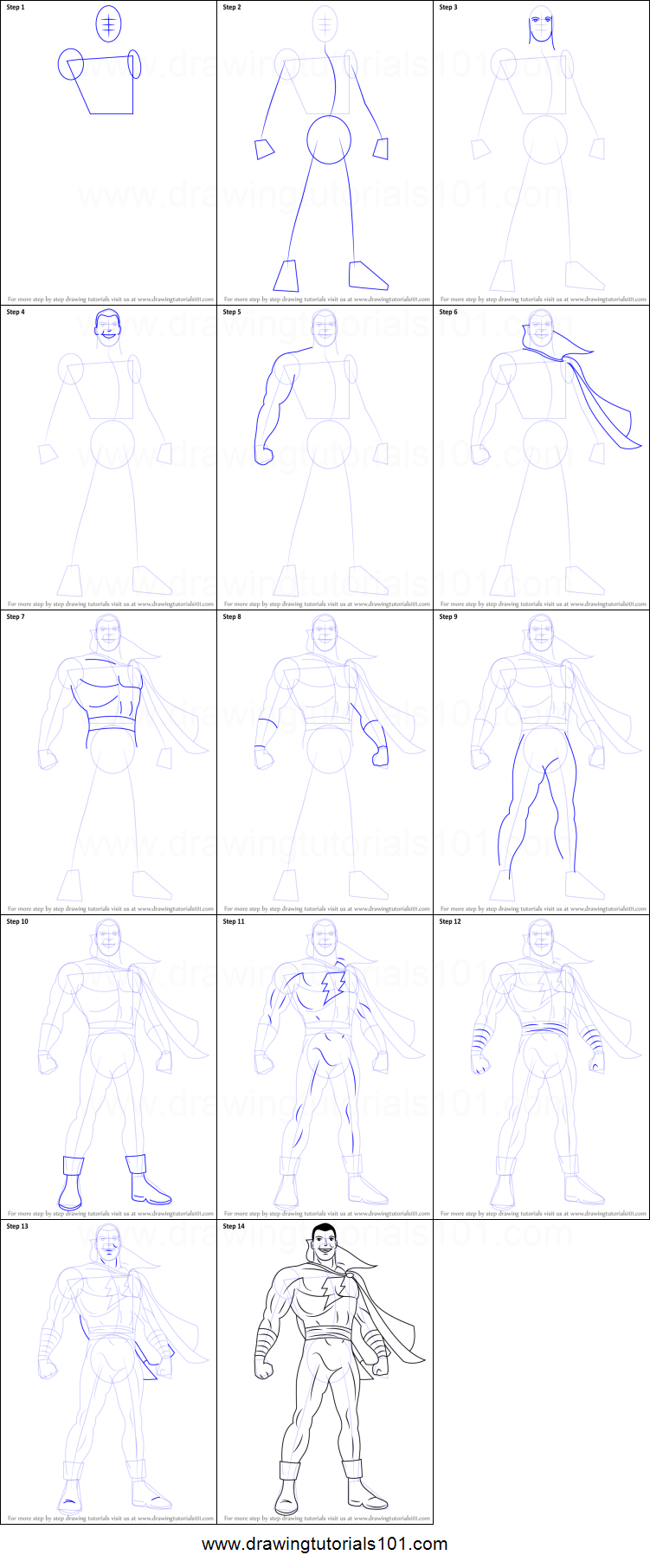 how to draw marvel characters
