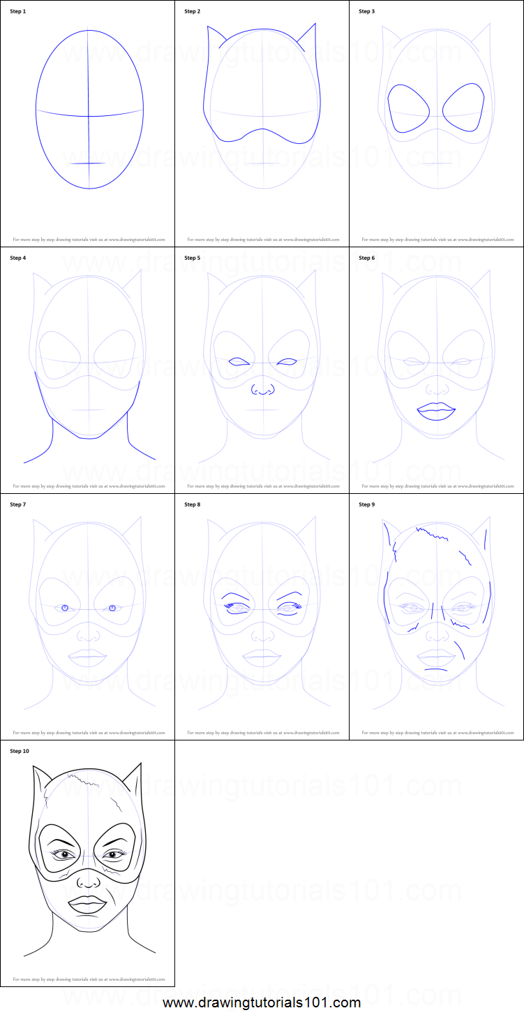 how to draw wonder woman face