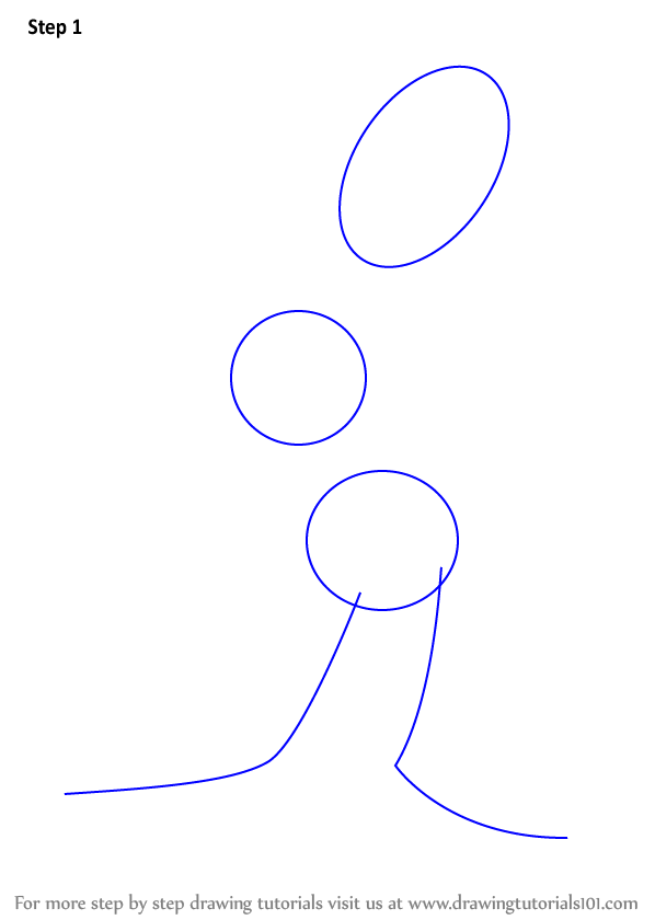 how to draw legs step by step