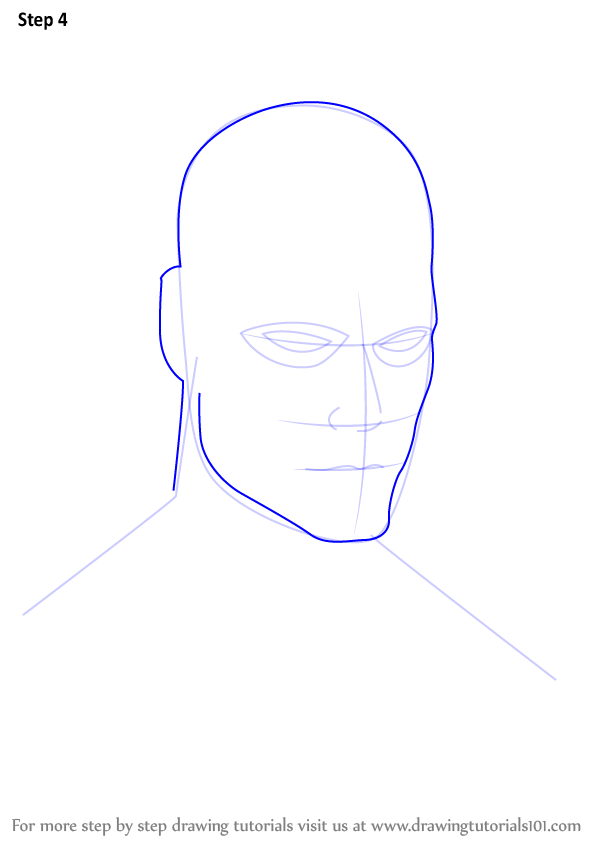 Step by Step How to Draw Daredevil Face ...   597 x 844 png 25kB