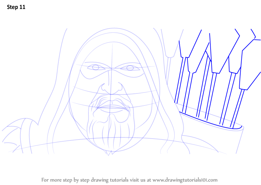 Learn How To Draw Green Arrow Face Green Arrow Step By
