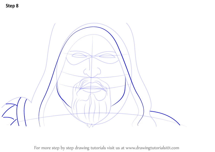 Step By Step How To Draw Green Arrow Face
