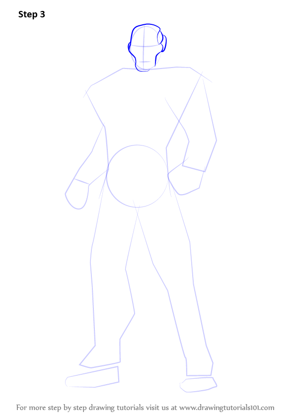 Learn How To Draw Iron Man Full Body Iron Man Step By Step