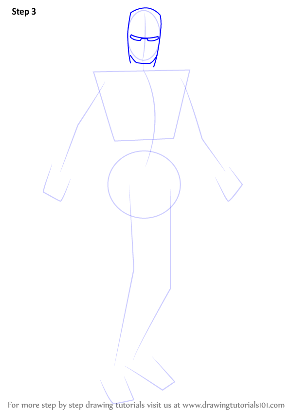 Learn How To Draw Iron Man Iron Man Step By Step