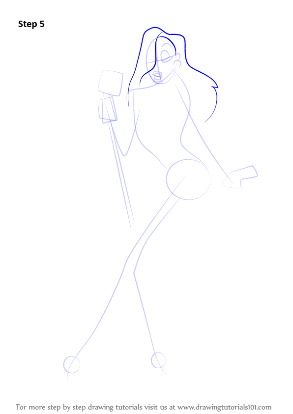 Learn How to Draw Jessica Rabbit