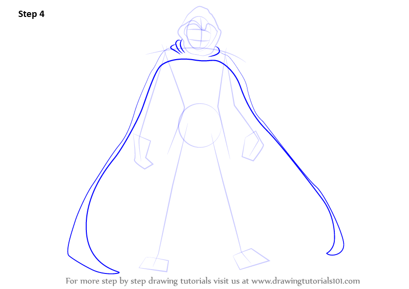 Learn How to Draw Moon Knight (Moon Knight) Step by Step ...   843 x 596 png 39kB