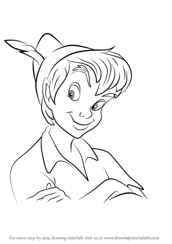 Learn How to Draw Peter Pan Face