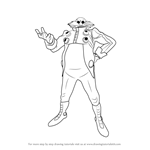 How to Draw Doctor Eggman from Sonic the Hedgehog