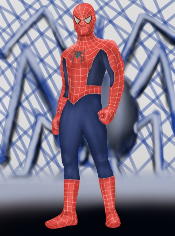 how to make spiderman drawing