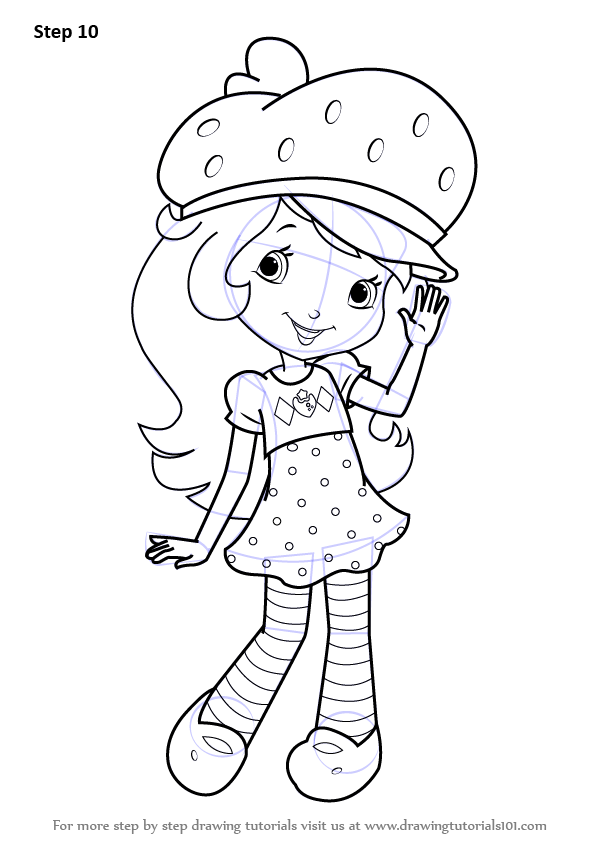 Learn How To Draw Strawberry Shortcake Strawberry
