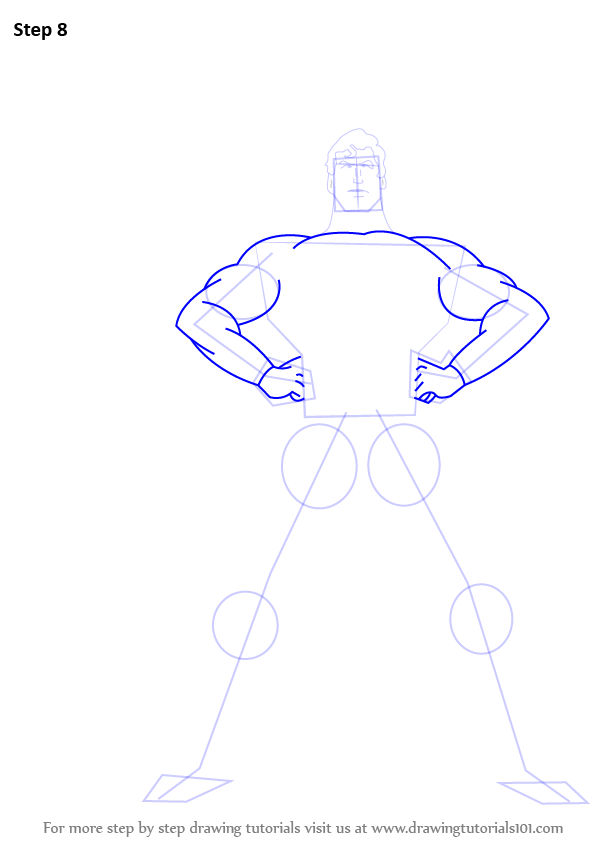 learn how to draw superman superman step by step