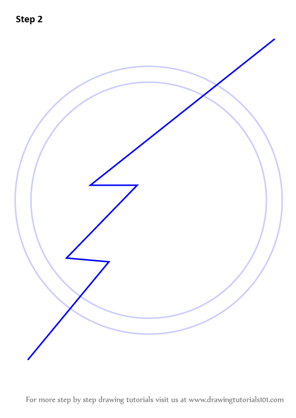 Drawing Smooth Lines In Flash : Learn how to draw the flash symbol step by