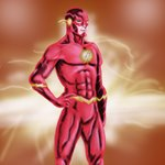 how to draw the flash symbol step by step