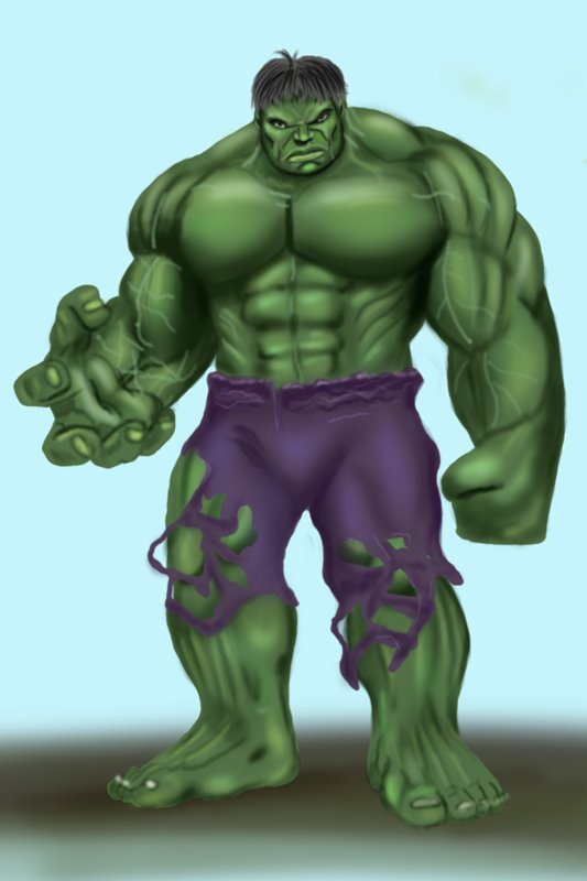 Learn How To Draw The Hulk The Hulk Step By Step Drawing Tutorials Was watching a couple of episodes of the old incredible hulk cartoon from the early 1980's, got nostalgic, and decided to make a fun pinup out of it. the hulk step by step drawing tutorials