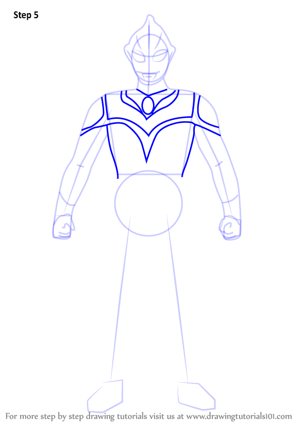 Learn How to Draw Evil Tiga (Ultraman) Step by Step ...