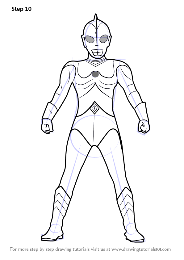 Learn How to Draw Ultraman 80 Ultraman