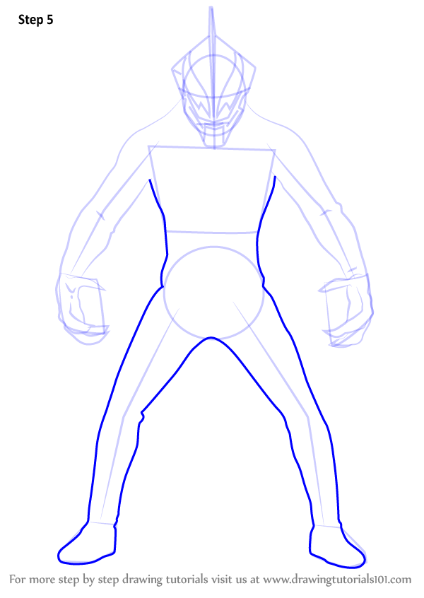 Learn How to Draw Ultraman Belial (Ultraman) Step by Step ...   600 x 846 png 52kB