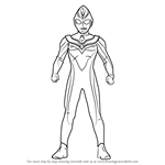 How to Draw Ultraman Dyna