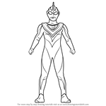 How to Draw Ultraman Gaia