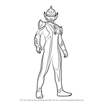 How to Draw Ultraman Hikari