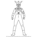 How to Draw an Ultraman Leo